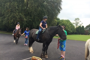 Horse Riding at the Anam Cara Family Day