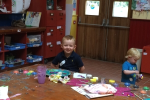 Art Room and our little Artists