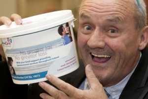 National Bag Pack Launch with Comedian Brendan o' Carroll.  Picture Fennells