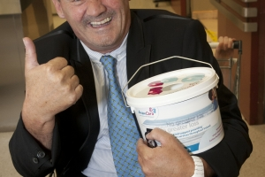 National Bag Pack Launch with Comedian Brendan o\' Carroll. Picture Fennells